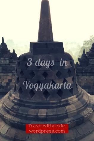 3 days in Yogyakarta